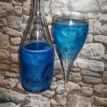 фото голубого шампанского мела доро