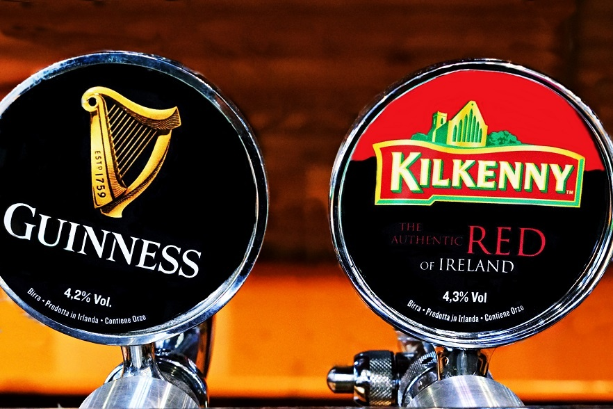 известные марки ирландского пива