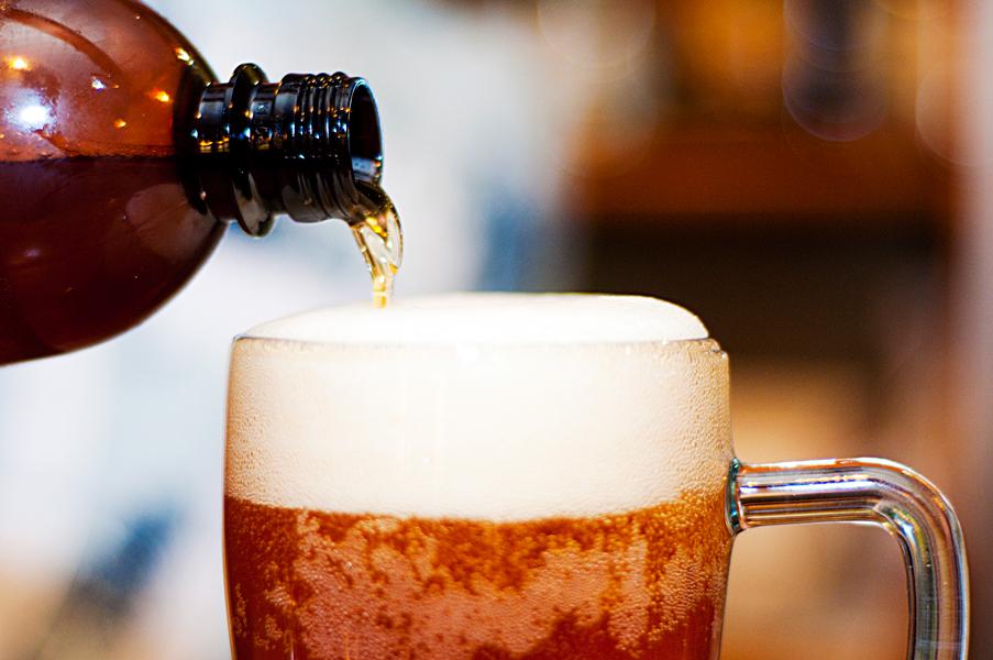 какое пиво подходит для волос