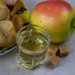 печеные яблоки на водке
