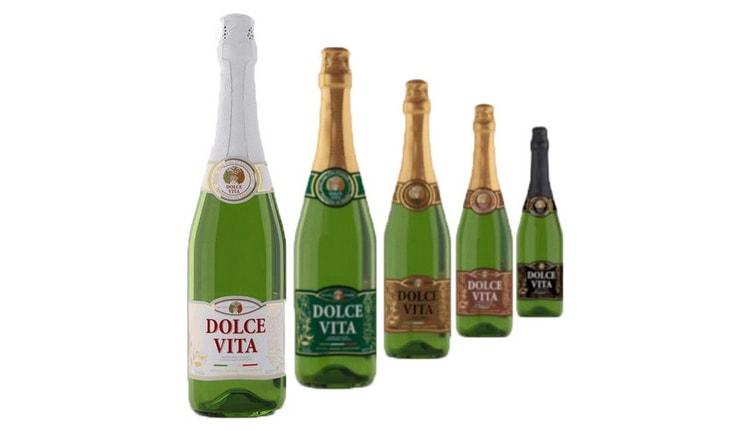 фото видов шампанского дольче вита