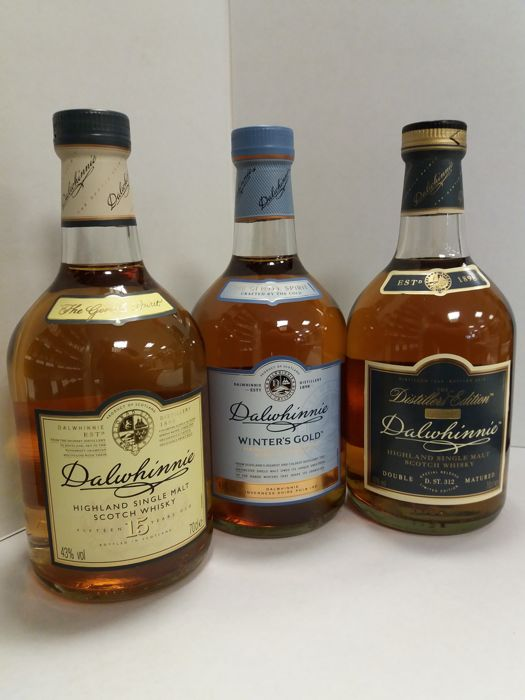 Dalvini whiskey assortment photo