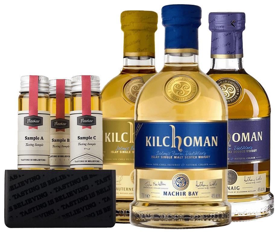 фото ассортимента виски Килхоман