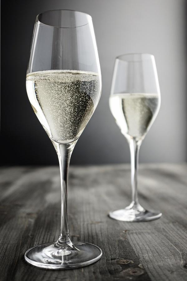 фото бокала для шампанского тюльпан