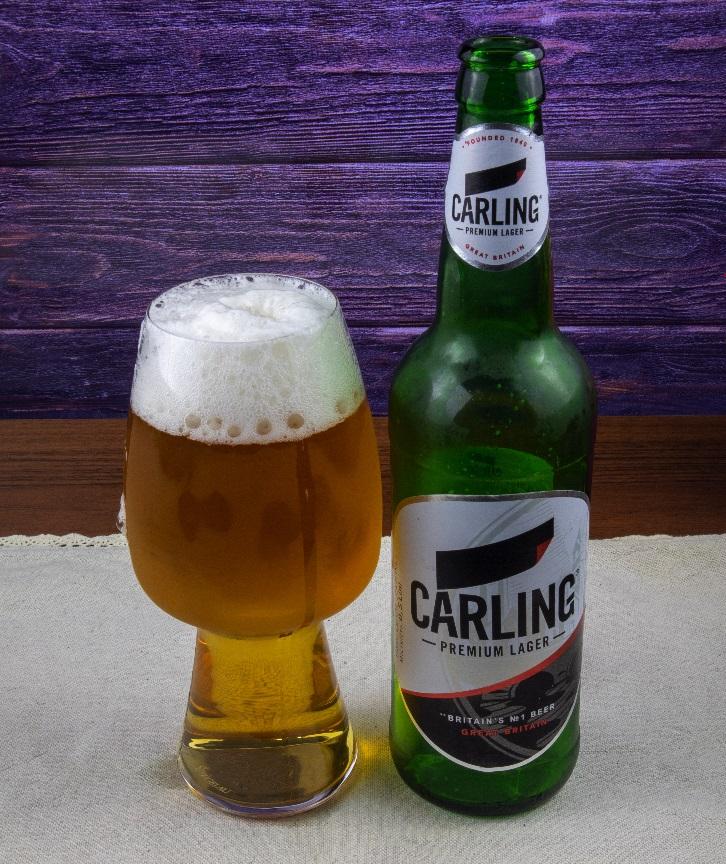фото бутылки пива Карлинг