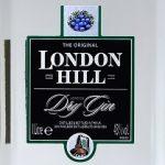 фото этикетки джина London Hill