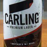 фото этикетки пива Карлинг