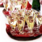 фото правильных бокалов для шампанского