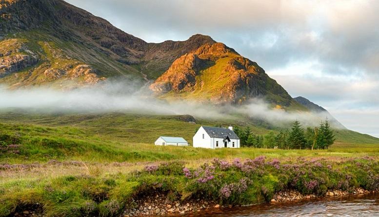 фото шотландского высокогорья