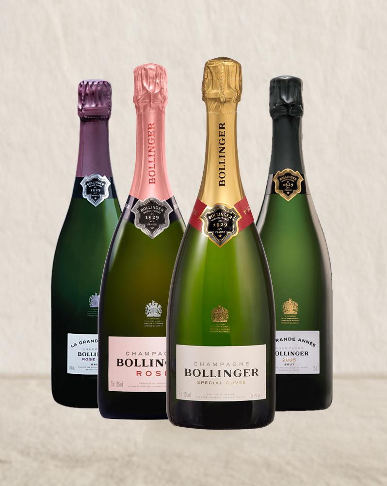 фото ассортимента шампанского Боланже
