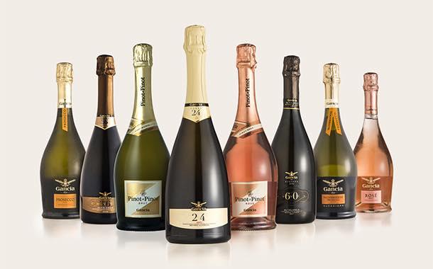 фото ассортимента шампанского Ганча