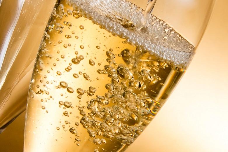 фото перляжа шампанского