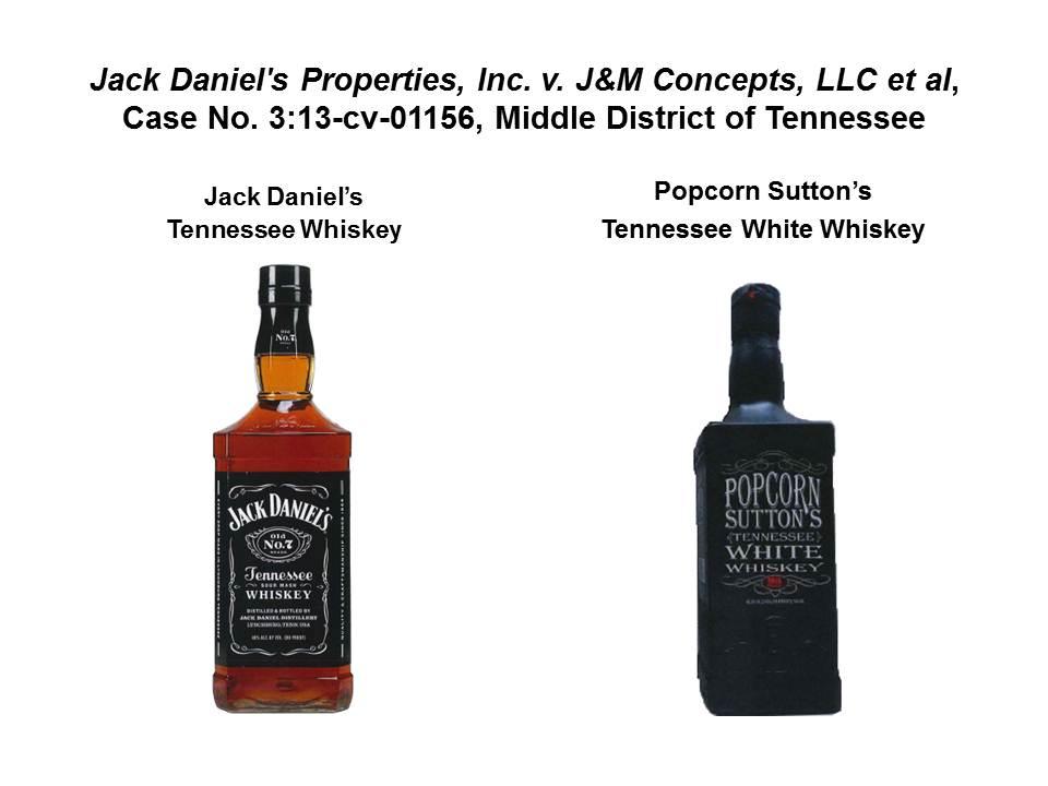 белый теннессийский виски и Джек Дениэлс