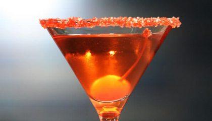 фото алкогольного коктейля Роза