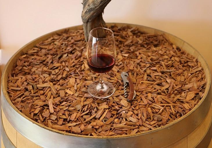 домашнее вино на дубовой щепе