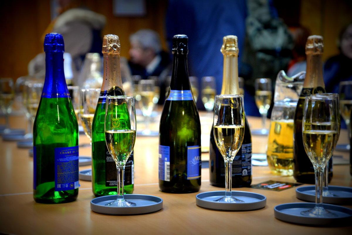 фото ассортимента шампанского МКШВ