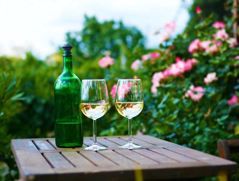 фото белого австрийского вина
