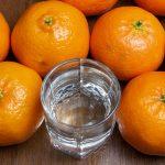 фото домашней водки с ароматом мандарина