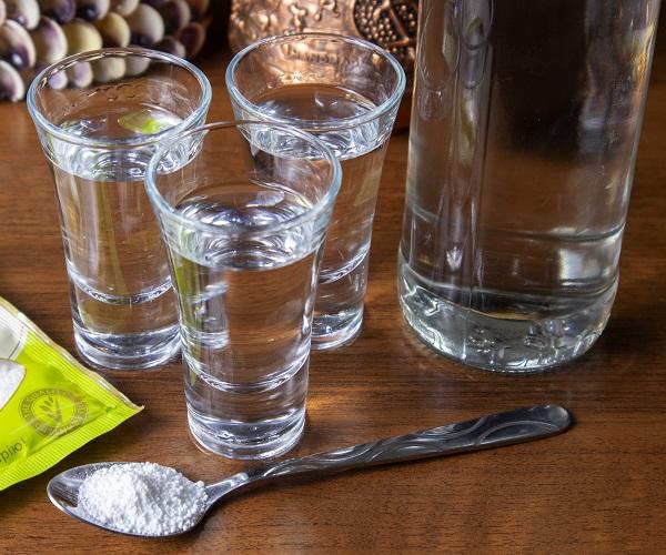 смяччение водки лимонной кислотой