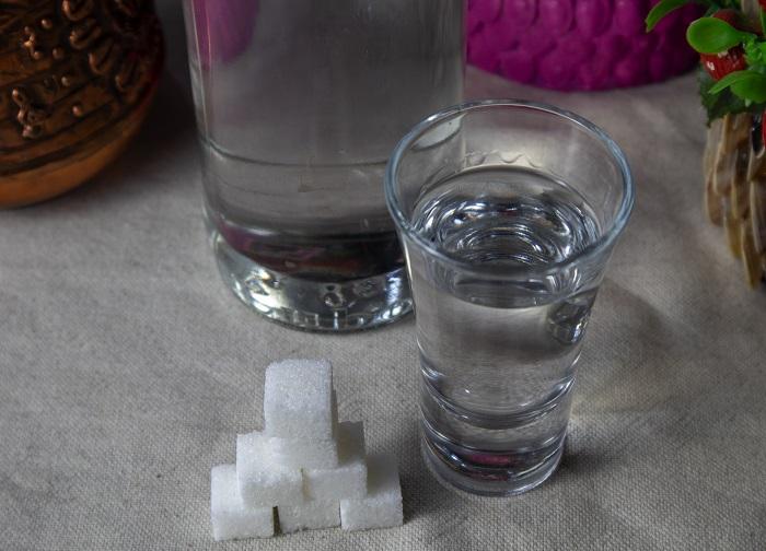 смяччение водки сахаром