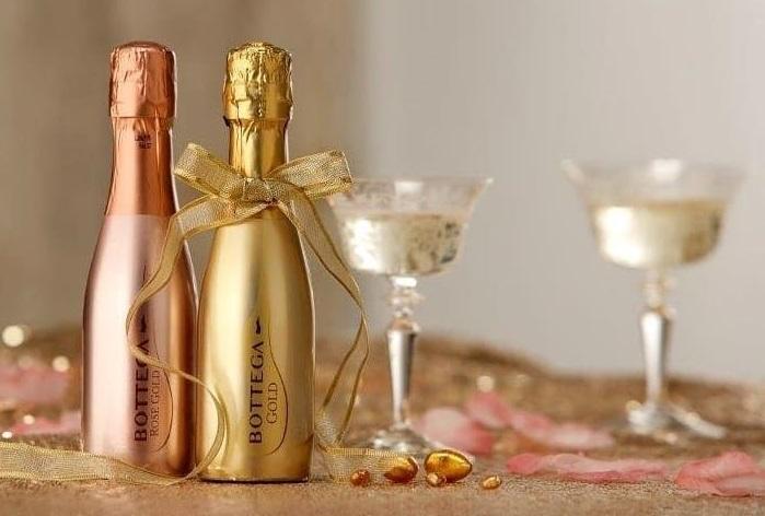 фото ассортимента шампанского Боттега