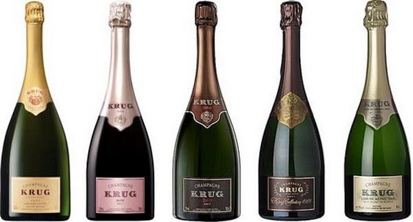 фото ассортимента шампанского Круг