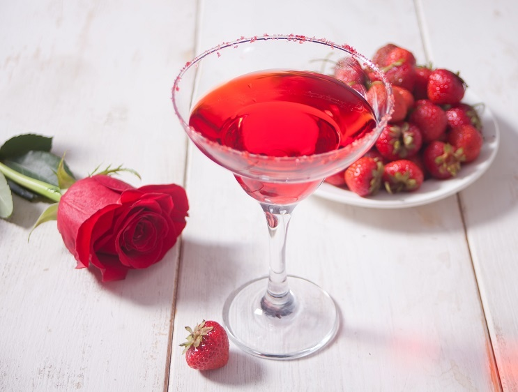 коктейль Роза фото