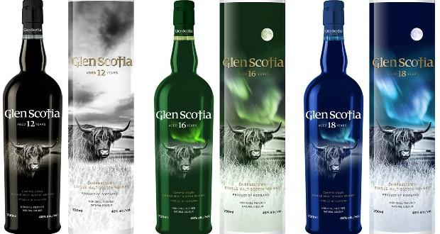 фото ассортимента виски Glen Scotia