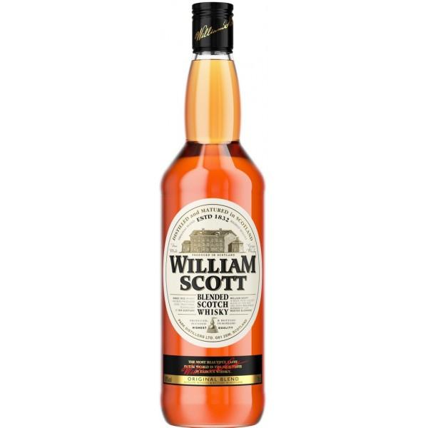 бутылка виски Вильям Скотт