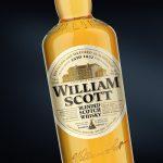этикетка виски Вильям Скотт