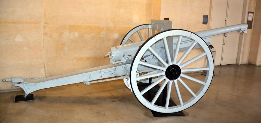 французская пушка 75 калибр