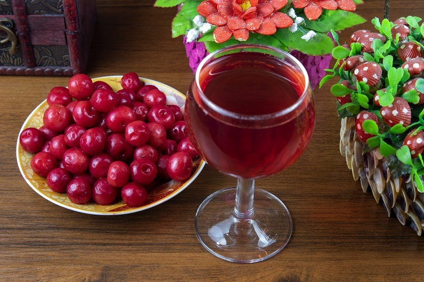 фото вина из замороженных ягод