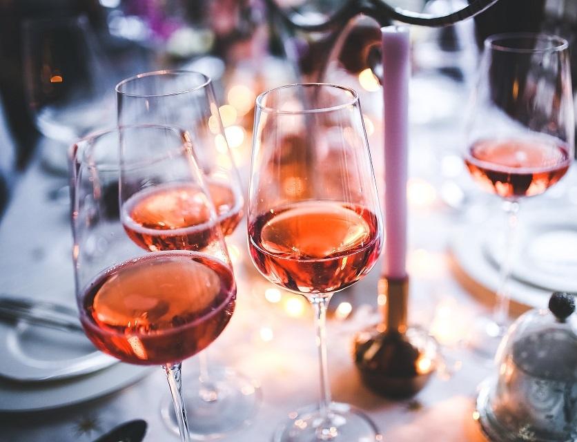 розовое вино к рыбе