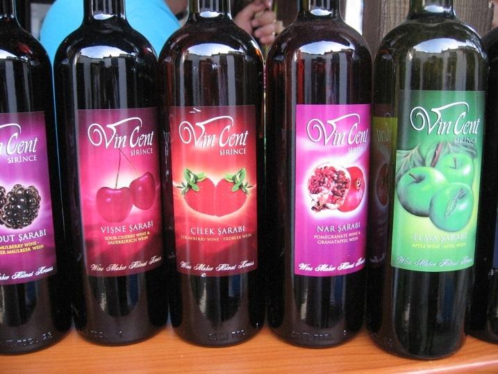 турецкие фруктовые вина