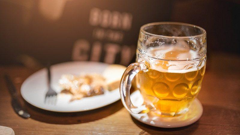 чешское пиво Лежак