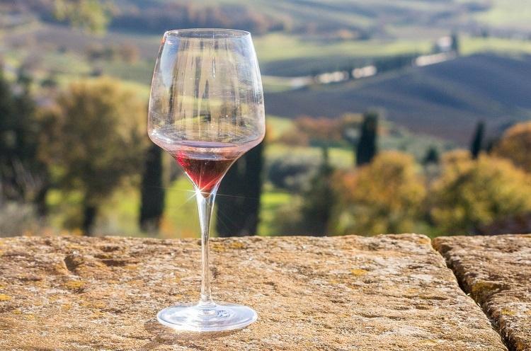 красное вино Тосканы