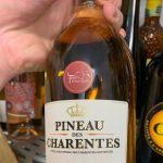 фото этикетки напитка Пино де Шарант