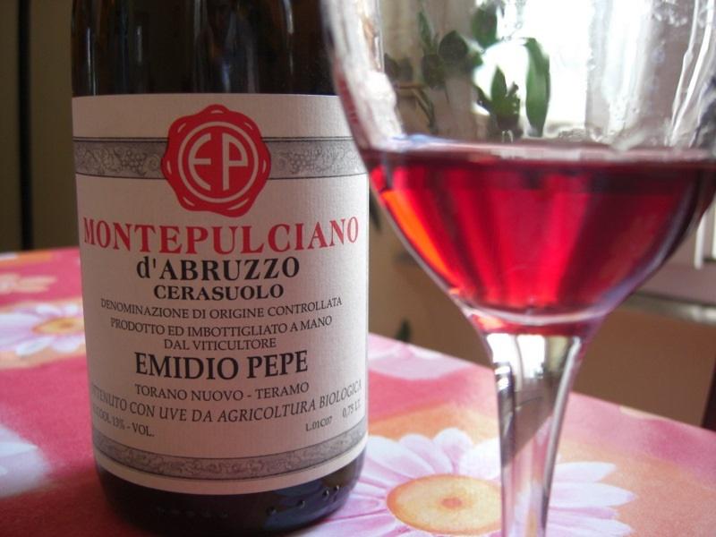 розовое вино Монтепульчано ди Абруццо