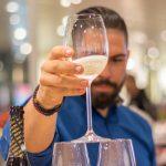 как правильно сделать горку из шампанского фото