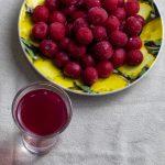наливка из замороженных ягод фото