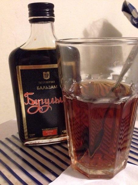бальзам Бугульма с чаем фото