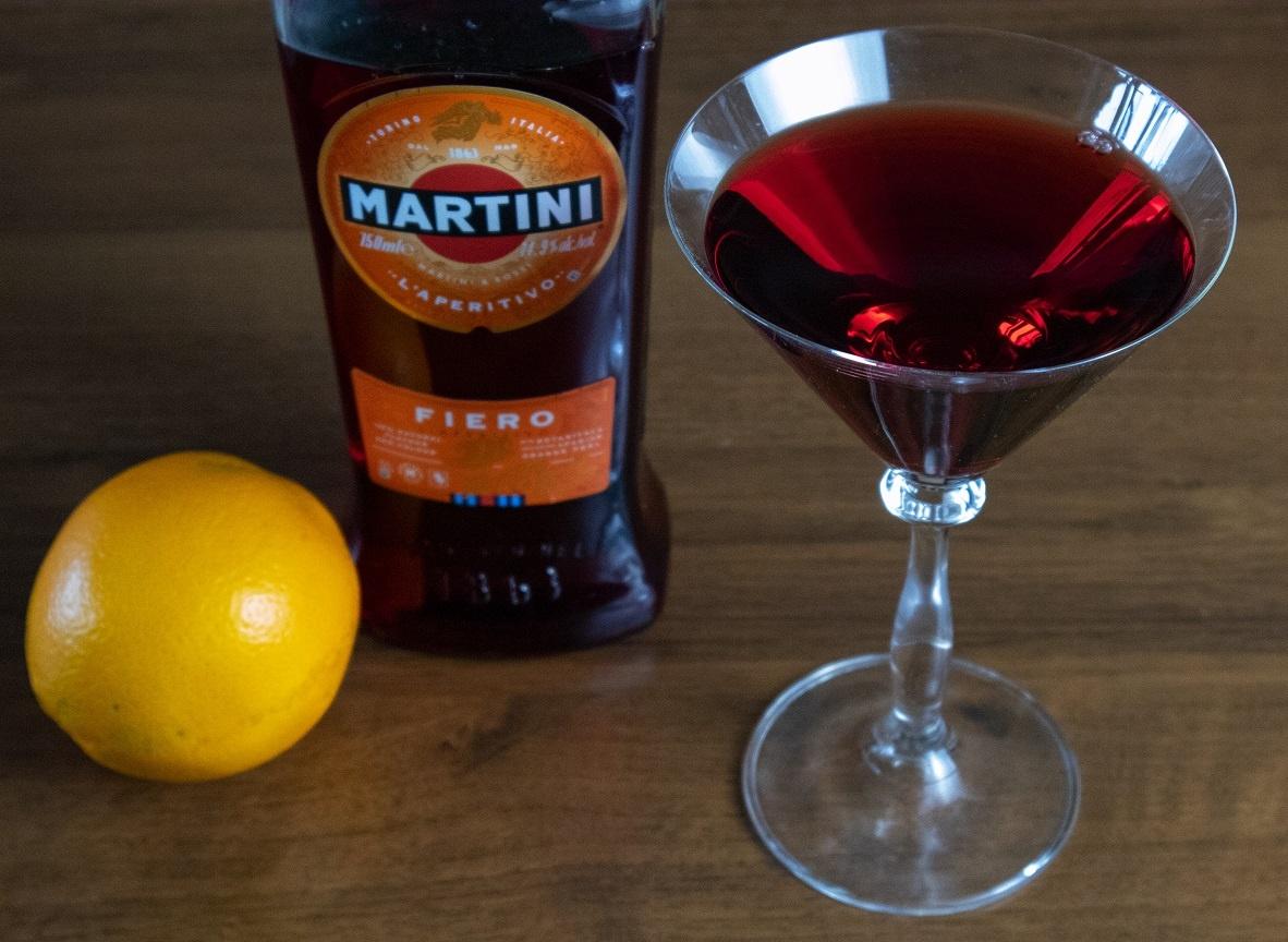 красный вермут мартини фиеро фото