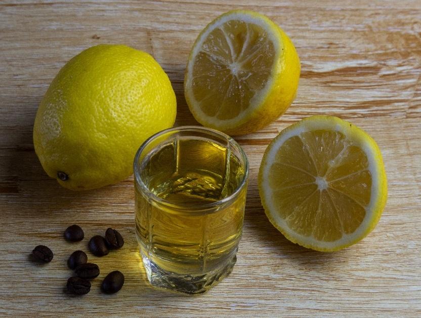 лимонная наливка с кофе фото