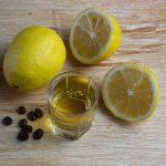 наливка из лимона и кофе фото