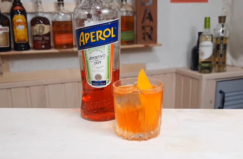 апероль с джином и соком