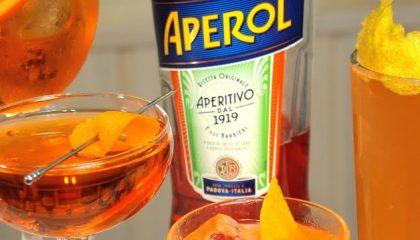 алкогольные коктейли с аперолем фото