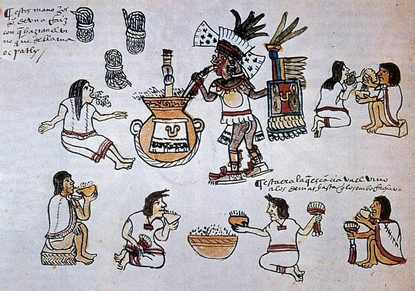 индейцы пьют пульке