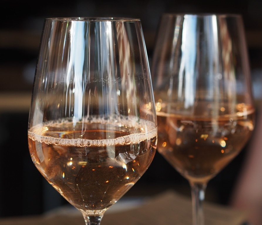 розовое вино Гренаш фото