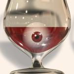 глаза под алкоголем