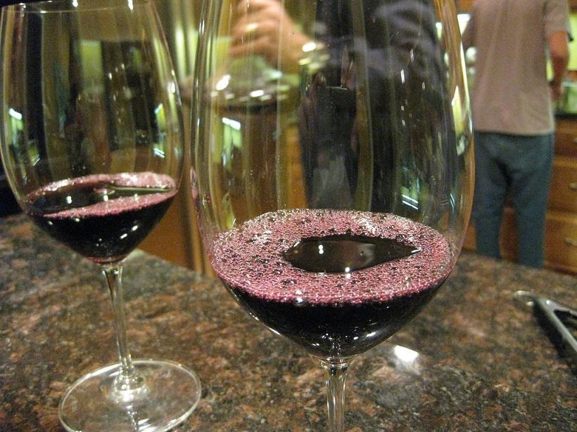 красное вино Мальбек фото